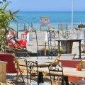Restauration sur la plage de Gouville-sur-mer
