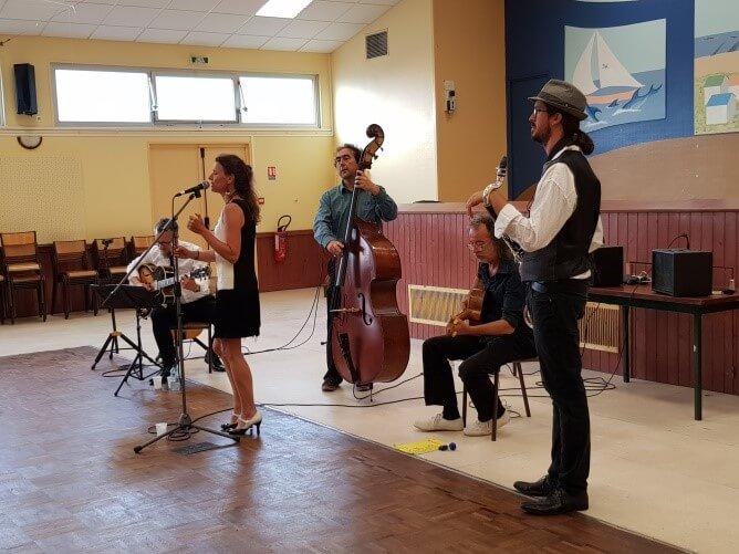Concert d'été par Latche Swing
